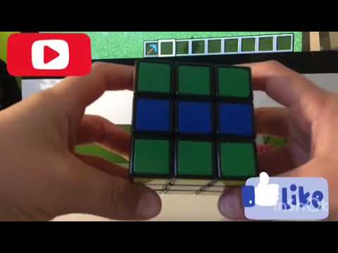 How to make a checker board pattern on a 3x3 Rubixs cube