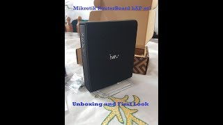 MikroTik hAP ac² Unboxing and First Look (RBD52G-5HacD2HnD-TC)