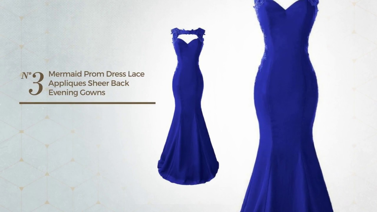 8 Delightful Royal Blue Gown Dress Amazon Gown Collection 2017 - YouTube