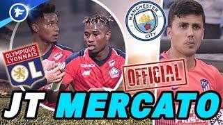 OFFICIEL : Manchester City paye 70M€ pour Rodri, 2 recrues à l'OL | Journal du Mercato