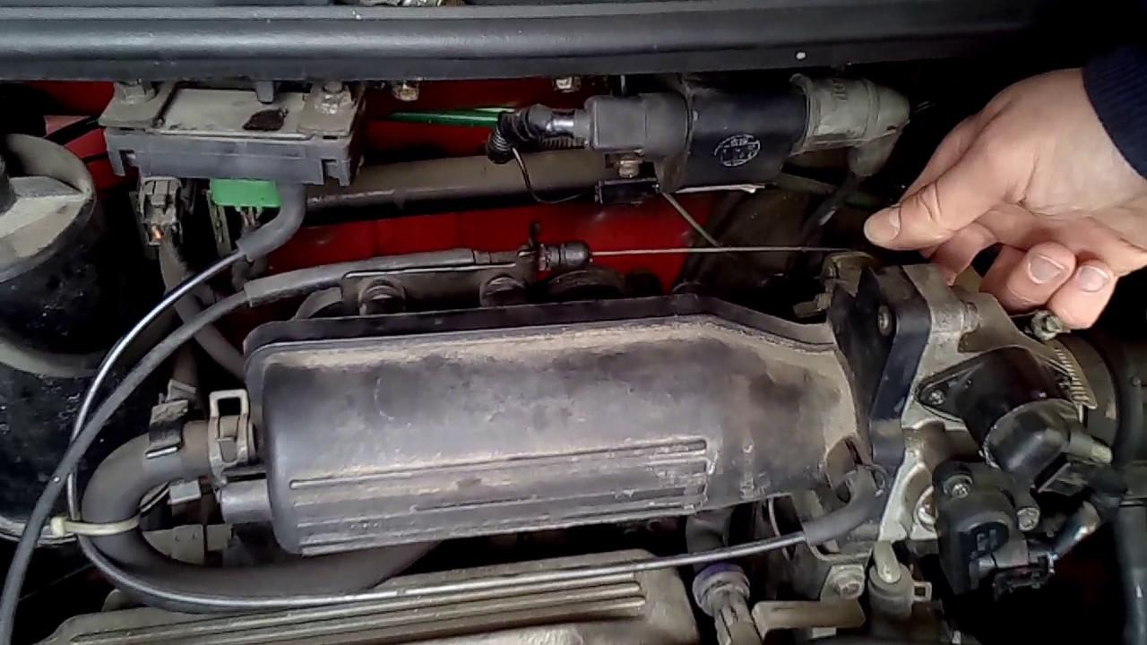 Matiz problem with engine(1) - YouTube