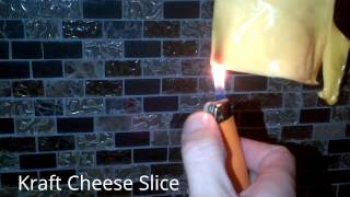 Processed Cheese versus Brick Cheese Video