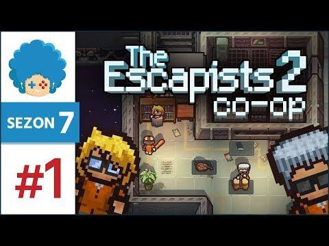 The Escapists 2 PL #1 w/ Eleven | Sezon 7 | U.S.S. Anomaly, czyli lama i żyrafa w kosmosie!