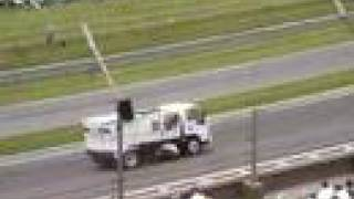 Street sweeper at Indy 500 - 2008