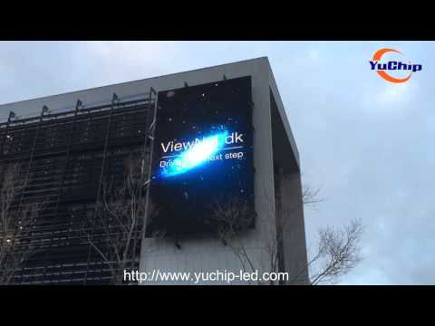 YUCHIP P16 Outdoor LED Billboard,Outdoor LED Screen