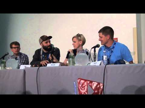 VidCon Q&A Viewers Like You, Crowdfunding in 2014 With Hank, Jack, Hannah, Destin, Nate.