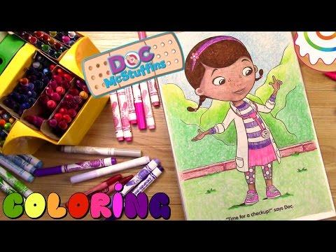 Doc McStuffins Coloring page - Doc McStuffins