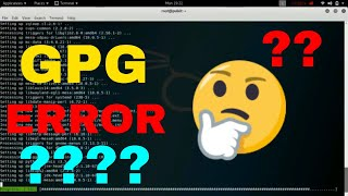 How to fix GPG error ( unable to locate package ) and update Kali Linux