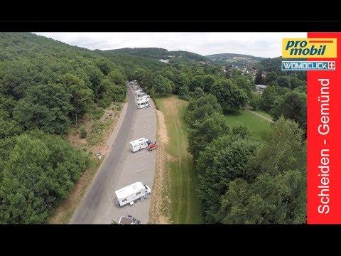 Wohnmobilhafen am Nationalpark Eifel / Schleiden Gemünd