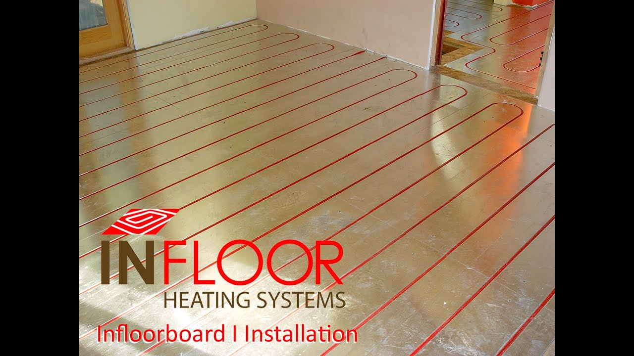 Installation By Infloor Heating Systems