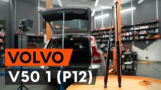 Wie VOLVO V50 (MW) Bremszange austauschen - Video-Tutorial