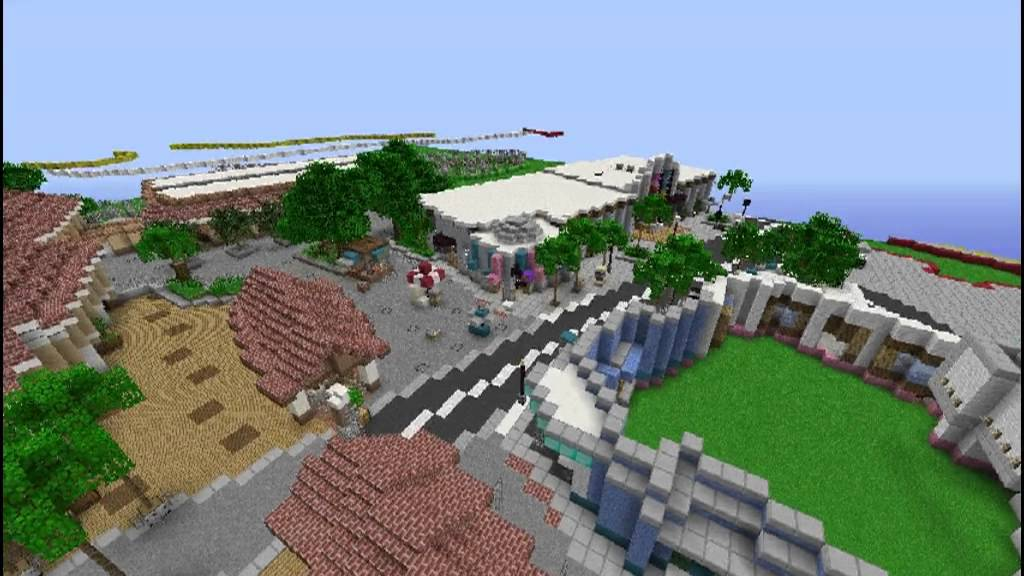 Universal Studios Orlando In Minecraft Youtube