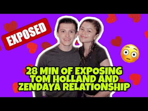 DON'T LET TOM HOLLAND AND ZENDAYA SEE THIS VIDEO! 28 Min Of Exposing Tomdaya!