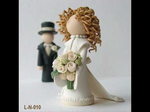Lil Newlyweds Wedding Cake Toppers By Subtle Details