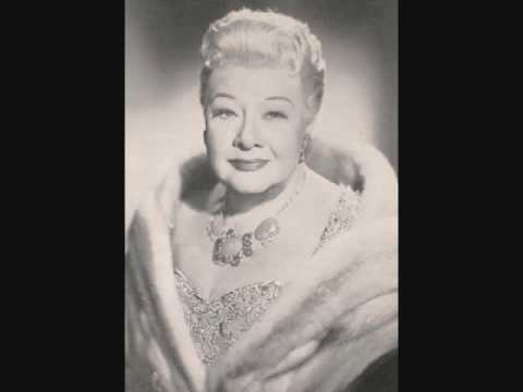 Sophie Tucker - I Don't Want To Get Thin