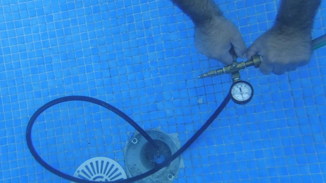 localizaci n de fugas bajo el agua sin vaciar la piscina
