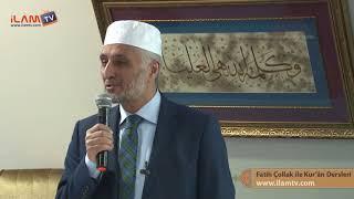 Kuran Dersi 276 - Fatih Çollak ile Kur'ân-ı Kerim Dersleri (Zümer Sûresi 1-21. Âyetler)