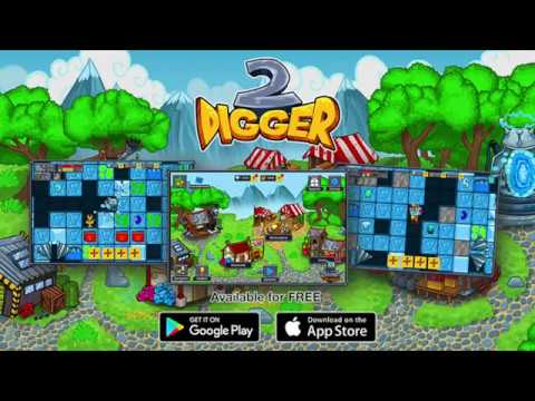Digger Machine 2 - dig diamonds in new worlds gameplay by Rapid Games Studio