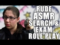 ASMR Search, Examine, Frisk Role Play - Rude ASMR RP, Searching You