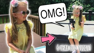DAY IN THE LIFE OF A 6 YEAR OLD DAILY VLOGGER! YOUNGEST DAILY VLOGGER EVER!