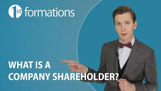 What is a company shareholder?