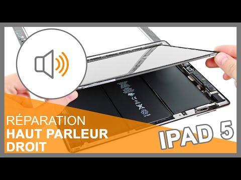 Réparation Haut-parleur droit iPad 5
