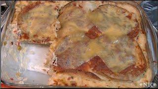 Sour Cream Queso Enchilada Bake Recipe ~ Noreen's Kitchen
