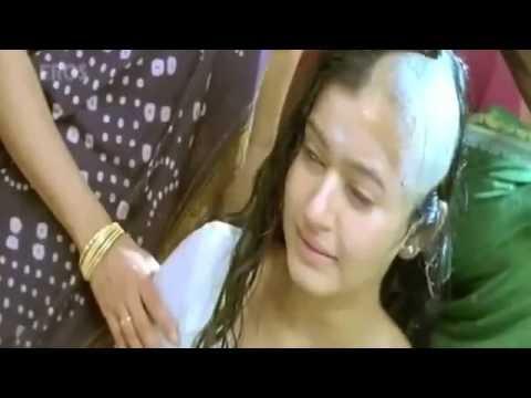 poonam bajwa headshave scene with cap