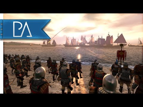 BATTLE FOR LAND AND SEA - Medieval Kingdoms Total War 1212AD Mod Gameplay