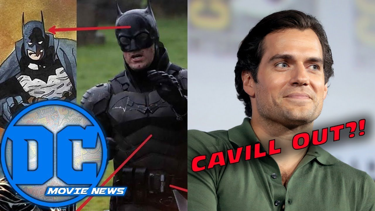 Breaking Down Battinson Costume Influences, Is Cavill Out?! | DC Movie News  - YouTube