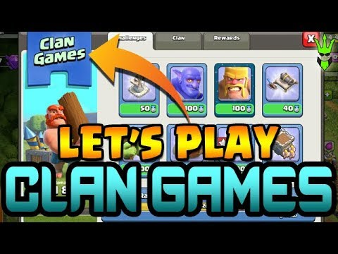 LET'S PLAY CLAN GAMES! - Clash of Clans Challenges! - COC Quests - TH11 Farming