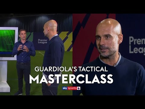 Pep Guardiola's insightful Manchester City tactical mastercl