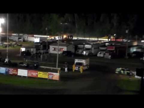 Usmts Amain @ Hamilton County Speedway 08/25/16 - dirt track racing video image