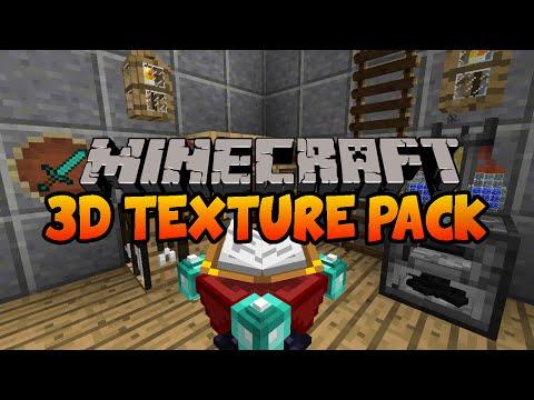 Default 3D Models Resource Pack 1.10 | Texture Packs