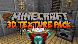 Default 3D Minecraft Texture Pack 1.8 / 1.7.10