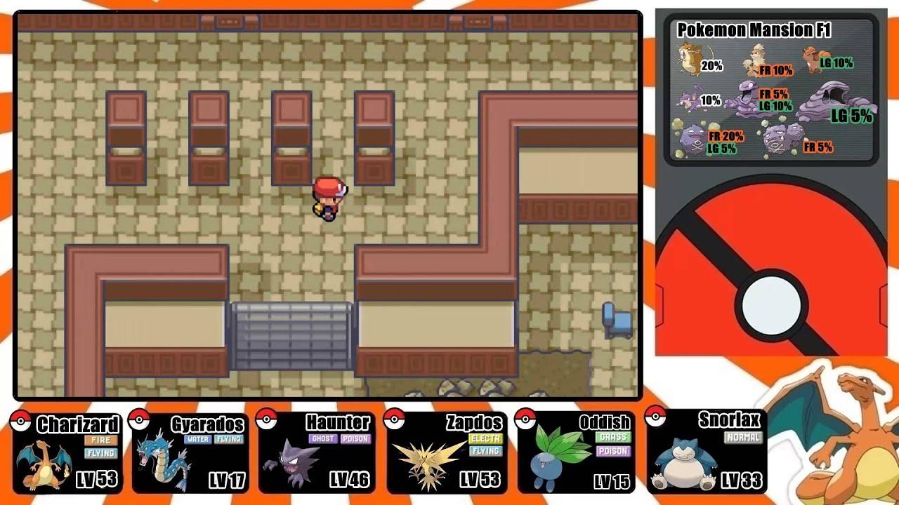Pokemon Firered And Leafgreen Walkthrough Part 33 Cinnabar Island And The Pokemon Mansion