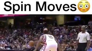 best spin moves | Best basketball player | Basketball Vines
