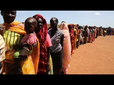 South Sudanese displaced hoping peace will pave the way home