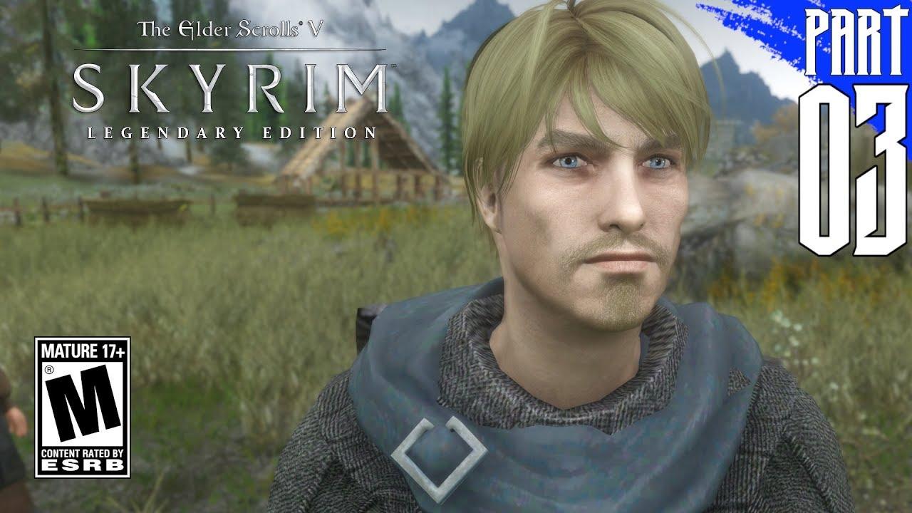 【SKYRIM 200+ MODS】Nord Gameplay Walkthrough Part 3 [PC - HD]