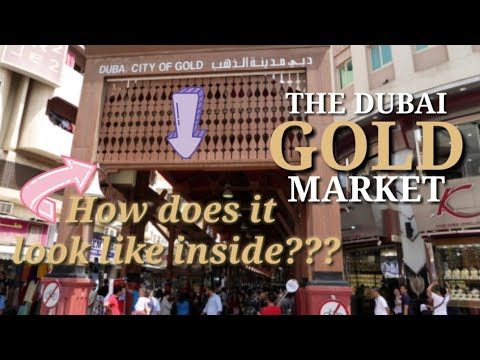 """GOLD SOUK """"The City of Gold"""" in Dubai"""