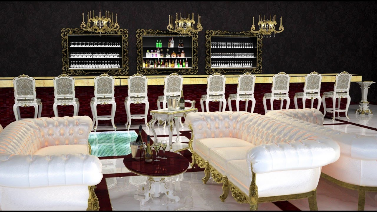 Luxury NIGHTCLUB Interior design for private clubs - YouTube