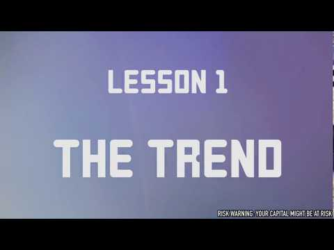 IQ Option - How To Identify a Trend - Inversion and Continuation