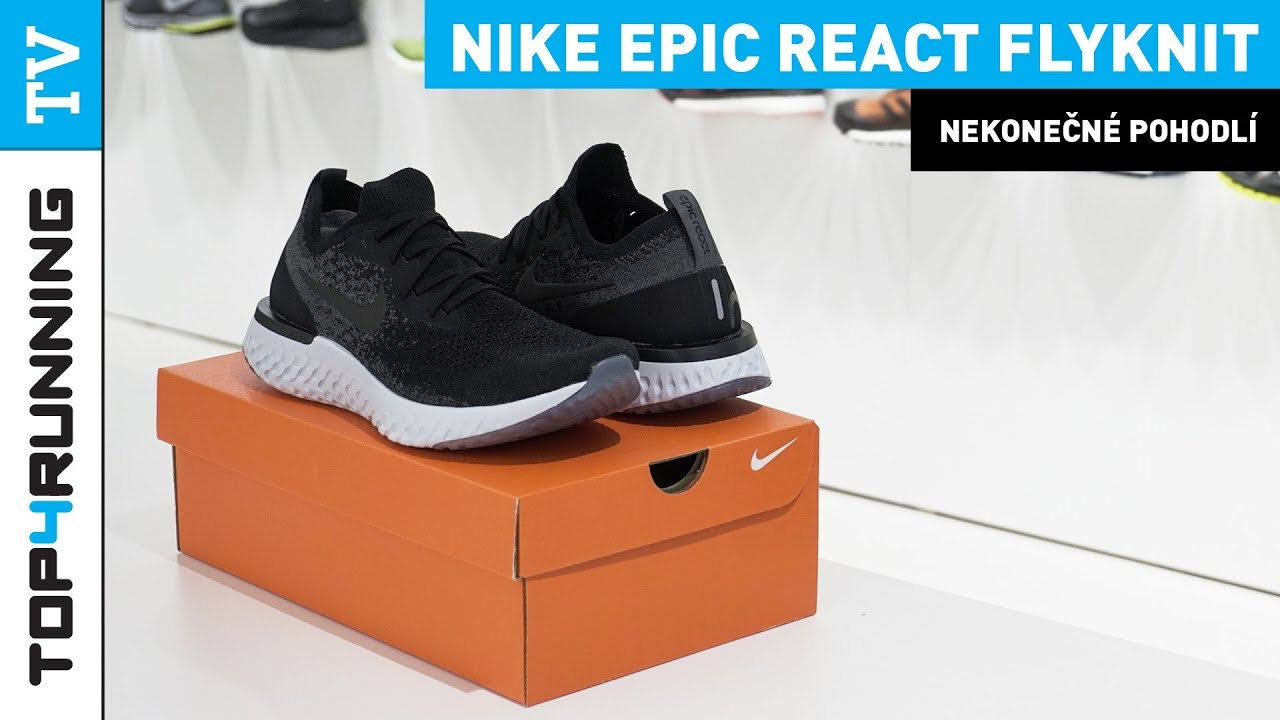 b3a42bbca21fe 👟 TOP4RUNNING TV UNBOXING Nike Epic React Flyknit 🖤 Black 👈 - YouTube