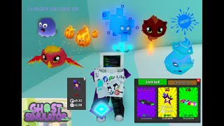 ROBLOX i play ghost simulator new quest LUNA i am AT the last quest to get WISP