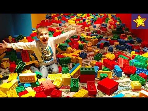 LEGO Выставка для детей Искусство Лего Игровая зона Кубики Компьтерные игры Video For Kids
