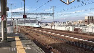 みずほ?さくら?時刻表には載っていない新幹線が来た!(姫路駅)