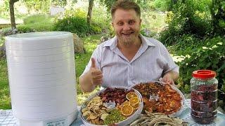 видео Сушилка для овощей и фруктов отзывы какая лучше