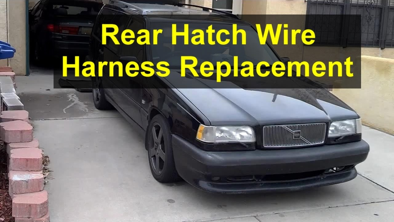 How to replace the rear hatch door wire harness, Volvo 850 and V70 Tailgate Wiring Harness Volvo on nissan 240sx wiring harness, ford f 150 wiring harness, volvo truck wiring harness, mazda rx7 wiring harness, volvo 240 headlight wiring, volvo 240 alternator wiring, international scout ii wiring harness, toyota truck wiring harness, chevy wiring harness, mustang wiring harness, volvo 1800 wiring harness, automotive wiring harness, volvo engine harness, jeep cj5 wiring harness, mazda 2004 wiring harness, mazda rx8 wiring harness, jeep grand wagoneer wiring harness, ford bronco wiring harness, volvo s40 wiring harness, volvo 240 starter wiring,