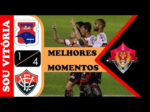Paraná 1 x 4 Vitória melhores momentos campeonato Brasileiro série B 2020 - YouTube