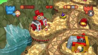 Fat Princess Gameplay (2010, Sony)